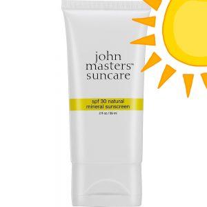 Naturalny mineralny filtr przeciwsłonecznySPF 30 John Masters Organics