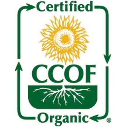 Certyfikaty ekologiczne CCOF