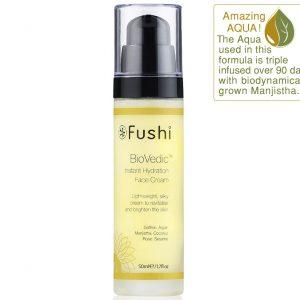 Ekologiczny krem nawilżający BioVedic Fushi 50 ml