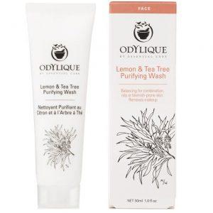 Ekologiczny żel do mycia twarzy Cytryna i Drzewo Herbaciane markiEssential Care Odylique