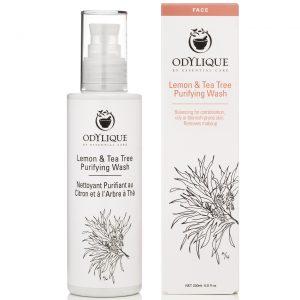 Essential Care Odylique żel do mycia twarzy Cytryna i Drzewo Herbaciane