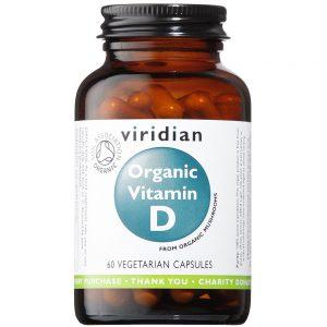 Ekologiczna witamina D Viridian