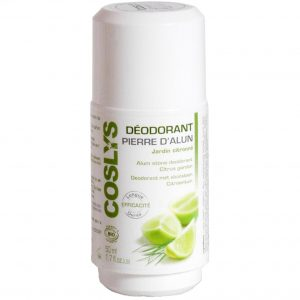 Coslys dezodorant ałunowy roll-on Cytrusowy Ogród 50 ml