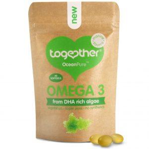Together Omega 3 OceanPure 30 kaps. | DHA olej z mikroalg