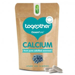 ogether wapń z alg morskich OceanPure Calcium 60 kaps