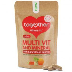 Together WholeVits Multiwitaminy i minerały 30 kapsułek