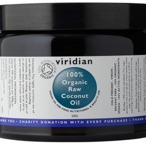 Viridian Organic Raw Coconut Oil 500 g