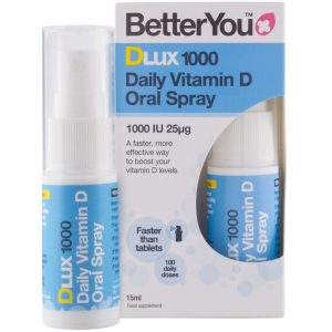 BetterYou DLUX 1000 Witamina D w sprayu