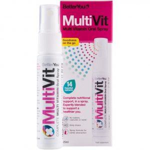 BetterYou MultiVit Multiwitamina w sprayu 25 ml