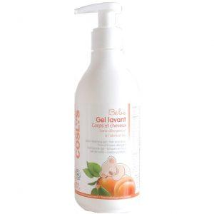Płyn mycia i kąpieli dla niemowląt i dzieci 2w1 Coslys 250 ml