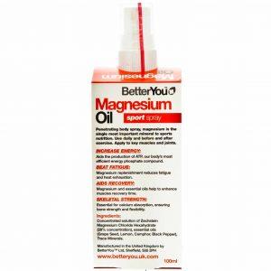 Olejek magnezowy w sprayu Regeneracja BetterYou 100 ml