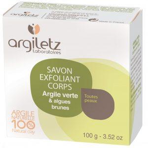Argiletz mydło antycellulitowe z glinką i algami 100 g