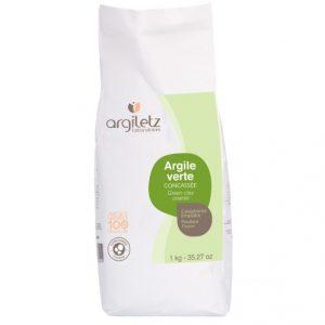 Argiletz zielona glinka granulat 1 kg
