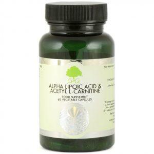 GG Kwas alfa liponowy i Acetyl L-Karnityna 60 kaps.