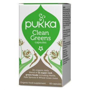 Pukka Herbs Clean Greens 60 kapsułek