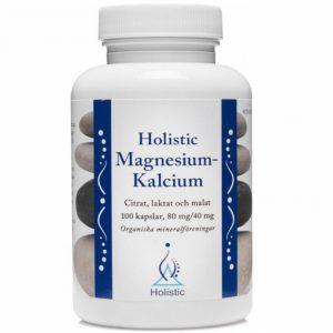Holistic Magnesium Kalcium 100 kapsułek