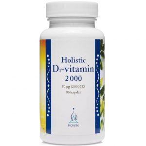 Holistic witamina D3 2000 IU
