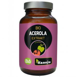 Hanoju acerola bio ekstrakt w tabletkach do ssania