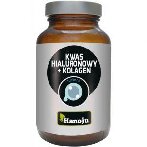 Hanoju Kwas hialuronowy Kolagen 250 mg 60 kapsułek