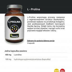 Hanoju L-Prolina 400 mg