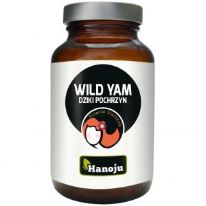 Hanoju Wild Yam (Dziki Pochrzyn) 500mg 90 kapsułek