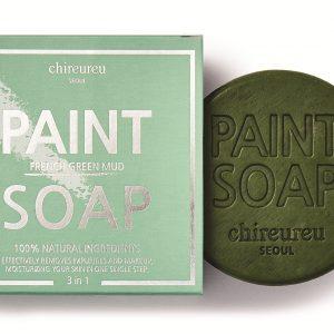 Chireureu Paint Soap Mydło nawilżająco-równoważące z zielonym błotem