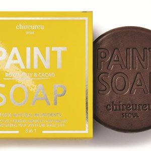 Paint Soap Chireureu Mydło nawilżające z mleczkiem pszczelim i kakao