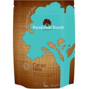 Rainforest Foods kakao surowe kruszone BIO 300 g
