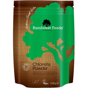 Chlorella Rainforest Foods proszek 200 g