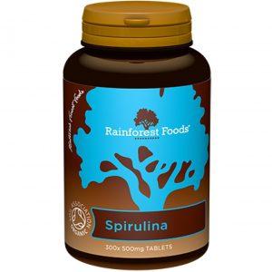 Rainforest Foods Spirulina Bio