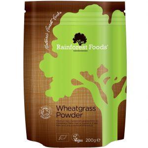 Rainforest Foods trawa pszeniczna bio 200 g