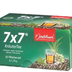 Herbata odkwaszająca organizm 7x7 Krautertee dr Peter Jentschura