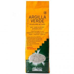 Argital Argilla Verde Glinka zielona suszona na słońcu