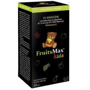 FruitsMax Kids 500 mg 60 tabletek