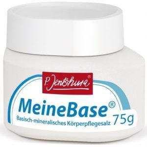 Zasadowa sól do kąpieli Meinebase Peter Jentschura 75 g