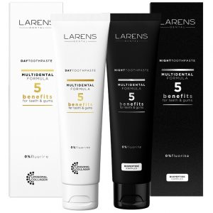 Larens Dental Day & Night Toothpastes Set