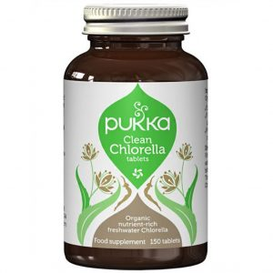 Clean Chlorella Pukka Herbs 150 tabletek