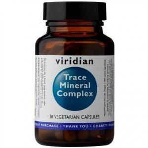 Viridian Kompleks pierwiastków śladowych 30 kapsułek