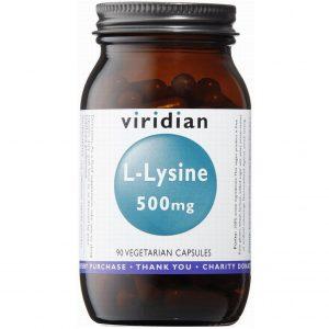 Viridian L-Lysine 500 mg