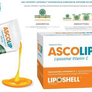 Ascolip liposomalna witamina C Lipid Systems 30 saszetek