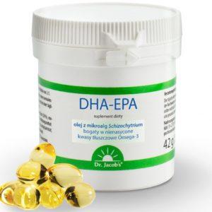 dr Jacobs Kwas DHA-EPA 60 kapsułek
