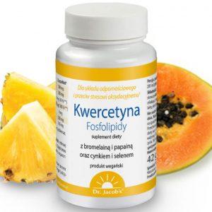 dr Jacobs Kwercetyna Fosfolipidy