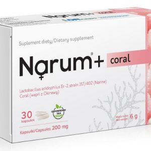 Narum Coral 200 mg 30 kapsułek