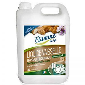 Etamine du Lys płyn do mycia naczyń organiczny migdał i malwa 5 L