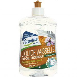 Hypoalergiczny płyn do mycia naczyń organiczny migdał i malwa EDL 500 ml