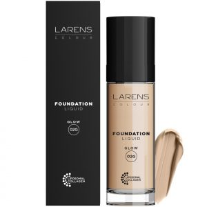 Liquid Foundation Glow Larens Colour Ciepły Medium 02G 30 ml