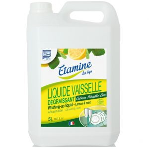 Płyn do mycia naczyń EDL organiczna cytryna i mięta 5 L