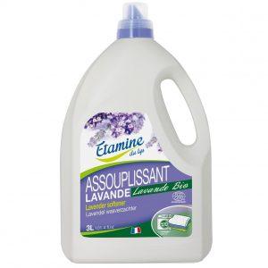 Płyn zmiękczający do płukania tkanin EDL organiczna lawenda 3 L