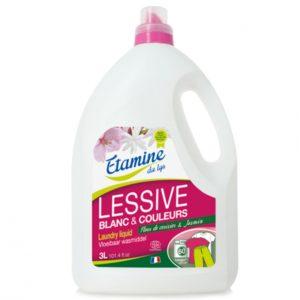 EDL Płyn do prania tkanin kolorowych i białych kwiaty wiśni i jaśmin 3 L