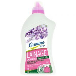 EDL płyn do prania wełny i delikatnych tkanin organiczna lawenda 1 L